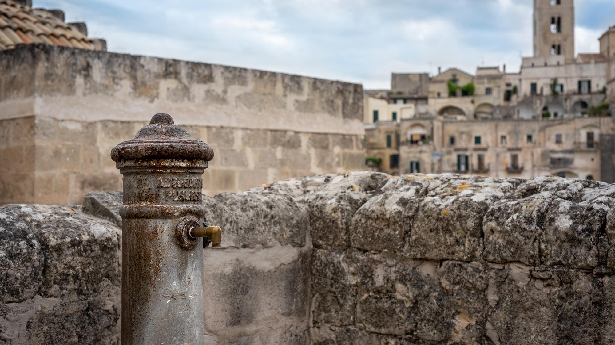 Fontanino nei Sassi di Matera