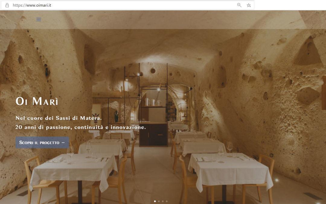 Online il nuovo sito di Oi Marì