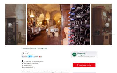 Oi Marì sul sito del Touring Club Italiano